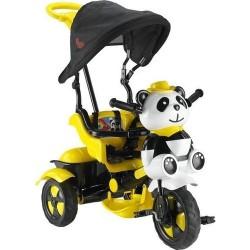 BABYHOPE 127 Little Panda Üçteker Bisiklet, Sarı