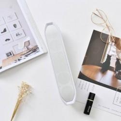 XIMISO Dijital Göstergeli Bluetooth Hoparlör, Beyaz