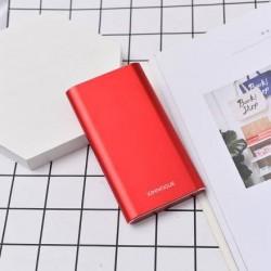 XIMISO Business Style Taşınabilir Şarj Aleti (Powerbank) 10000mAh, Kırmızı