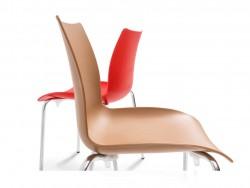 DELTA Alya Sandalye, Kromajlı Ayak w:250 h:188