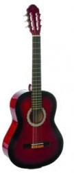 EKO CS-10RB Stüdyo Serisi Redburst Klasik Gitar 4/4 Ölçek