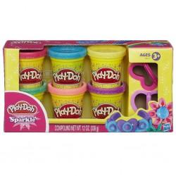 HASBRO A5417 Play-Doh Işıltılı Hamur w:250 h:250