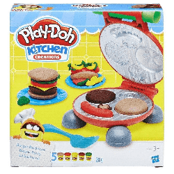 HASBRO B5521 Play-Doh Burger Seti w:250 h:250