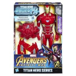 HASBRO E0606 Marvel Avengers: Infinity War Titan Hero Power FX Iron Man Figür w:250 h:250