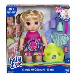 HASBRO E0609 Baby Alive Eğlenceli Bebeğim Tuvalet Eğitiminde w:250 h:250