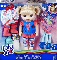 HASBRO E2101 Baby Alive Bebeğimle Moda Zamanı w:238 h:250
