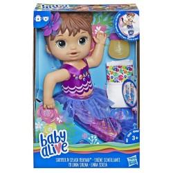 HASBRO E3691 Baby Alive Deniz Kızı Bebeğim - Kumral w:250 h:250