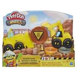 HASBRO E4294 Play-Doh Süper Buldozer ve Kepçe w:250 h:250