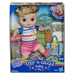 HASBRO E5244 Baby Alive Işıklı Ayakkabılarıyla Neşeli Erkek Bebeğim w:250 h:250