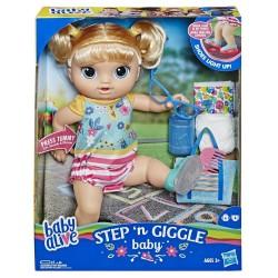 HASBRO E5247 Baby Alive Işıklı Ayakkabılarıyla Neşeli Bebeğim w:250 h:250