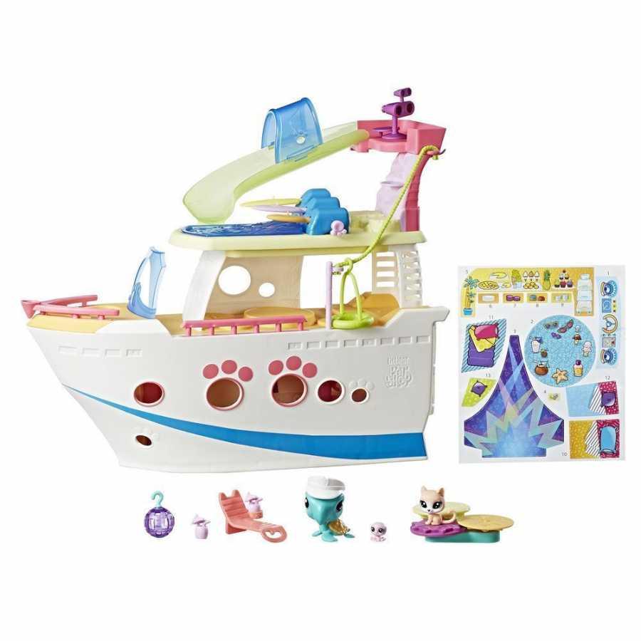 Hasbro Littlest Pet Shop Lps Cruise Ship