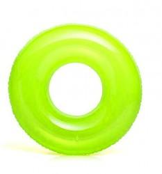 İNTEX Şeffaf Jumbo Can Simidi 76 Cm, Yeşil