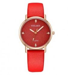 Kadın Lüks Saat, Kırmızı