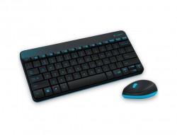 Logitech MK240 Kablosuz Siyah Klavye + Mouse Set