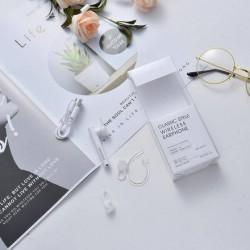 XIMISO Klasik Stil Kablosuz Kulaklık, Beyaz
