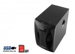 Mikado MD-512 5+1 Fm Radyolu Speaker, Siyah