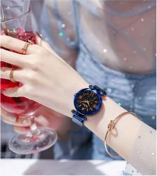 Mıknatıslı Lüks Saat, Mavi