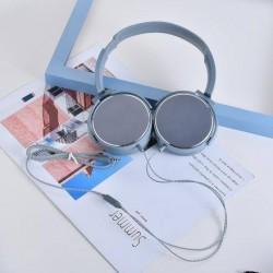 XIMISO Morandi Serisi İskandinav Stili Metal Kulaklıklar, Grimsi Mavi