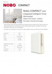Nobo NUL4T 24 A+ Programlanabilir Isıtıcı 2400 Watt w:177 h:250