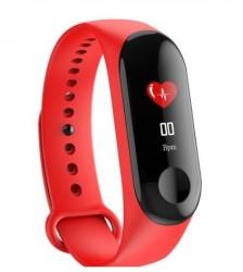 Renkli Ekran Spor Akıllı Saat, Kırmızı