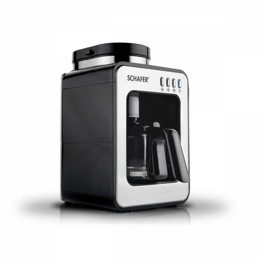 SCHAFER Barista Kahve Makinesi, Siyah