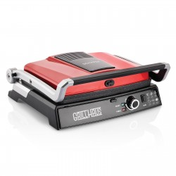 SCHAFER Grill Haus Tost ve Izgara Makinesi, Kırmızı