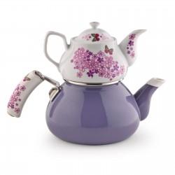 SCHAFER Stelle Porselen Çaydanlık, Mor