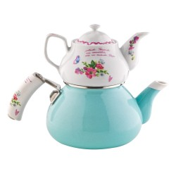 SCHAFER Stelle Porselen Çaydanlık, Mavi