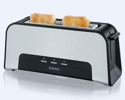 SEVERIN AT2260 Ekmek Kızartma Makinesi 950W, Paslanmaz Çelik w:250 h:200