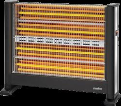 Simfer S.2800.ESL Slimline Quartz Isıtıcı 2800W w:250 h:219
