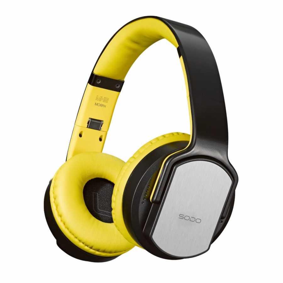 SODO MH2 Bluetooth Kulaklık, Sarı