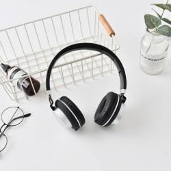 XIMISO Şık Kulak Üstü Kulaklık, Siyah
