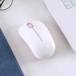 XIMISO Şık Kablosuz Mouse, Beyaz ve Pembe