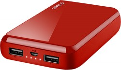 TTEC ReCharger 2BB156K 10000mAH Taşınabilir Şarj Aleti(PowerBank), Kırmızı