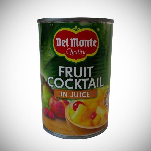 Del Monte 415 gr Kendi Suyunda Doğranmış Karışık Meyve