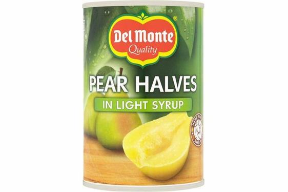 Del Monte 420 gr Bütün Dilimli Armut Kompostosu