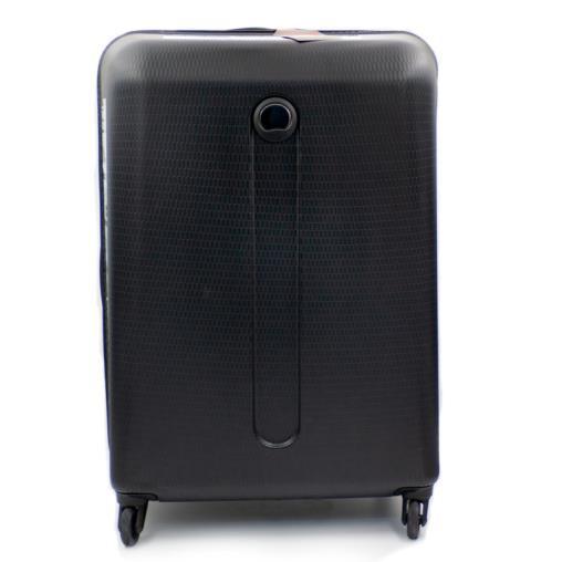 Delsey 2 Tekerlekli Sert Bavul, Siyah