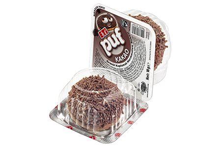Eti 18 gr Puf Kakaolu Granül Kaplamalı Marshmallow Bisküvi