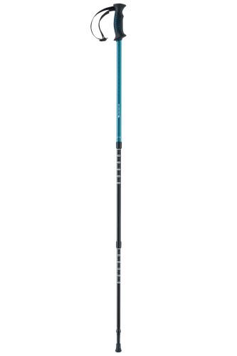 Ferrino 78119IBB Teleskopik Yürüyüş Direği, Mavi