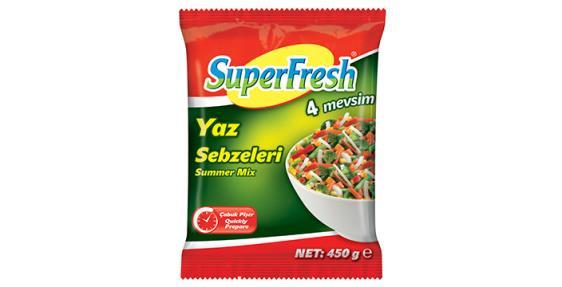 Superfresh 450 gr Yaz Sebzeleri Türlü