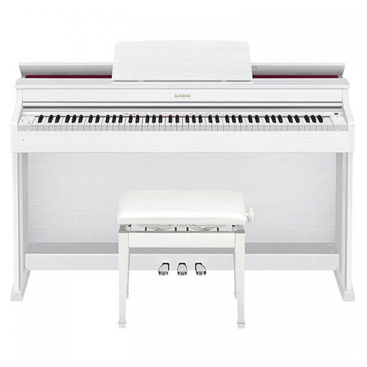 CASIO AP-470 Dijital Piyano, Mat Beyaz