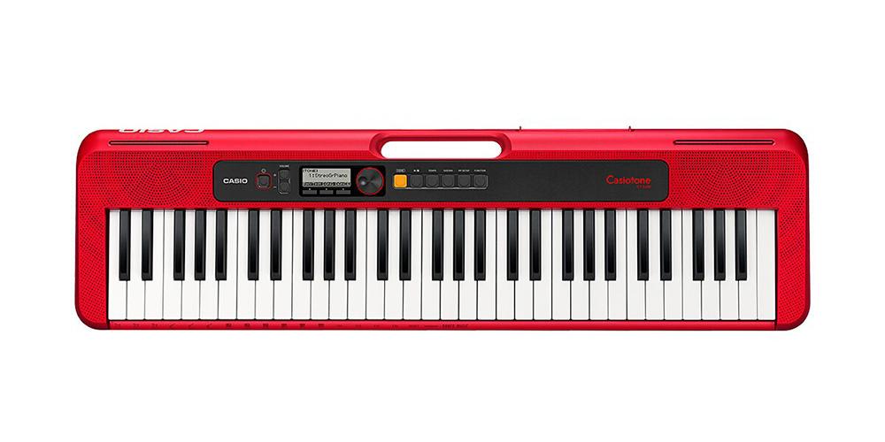 CASIO CT-S200RD 61 Tuşlu Klavye, Kırmızı