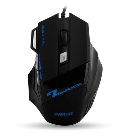 EVEREST SM-770 Kablolu Oyuncu Mouse, Siyah