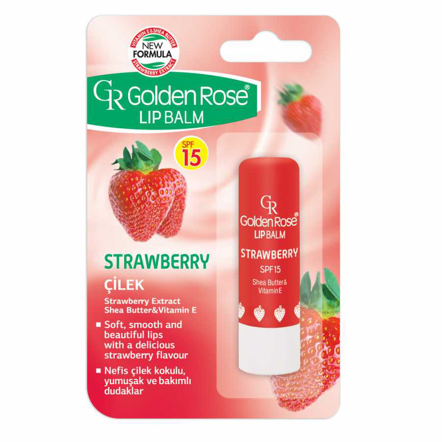Golden Rose Lip Balm Strawberry