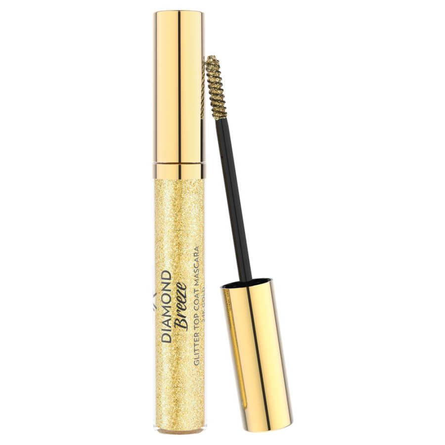 Golden Rose M-DTM Diamond Breeze Glitter Topcoat Maskara-24k Altın