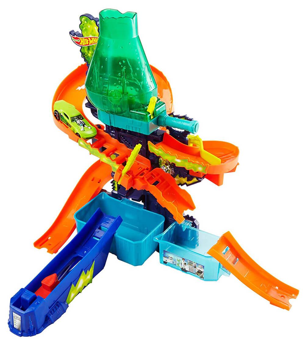 HOT WHEELS CCP76 Renk Değiştiren Araçlar Çılgın Laboratuvar