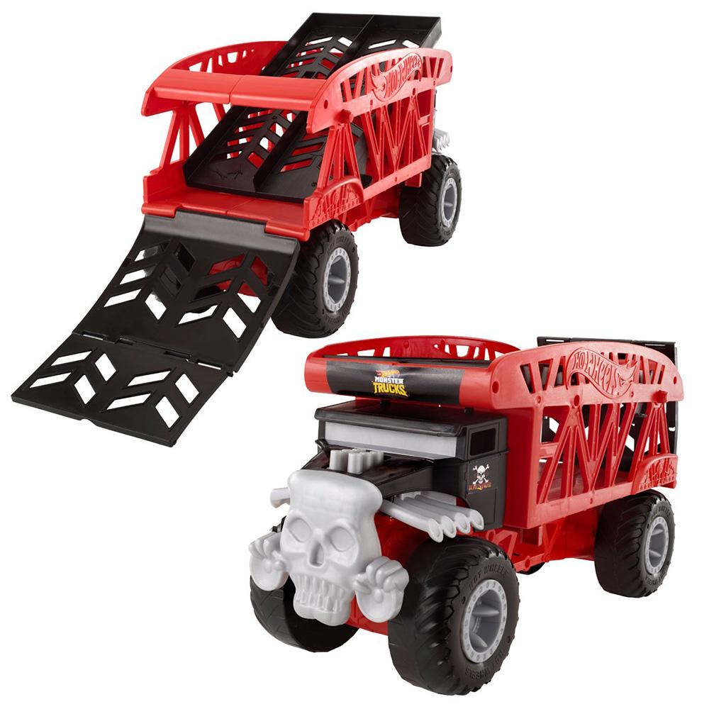 HOT WHEELS FYK13 Monster Trucks Taşıyıcı Kamyon