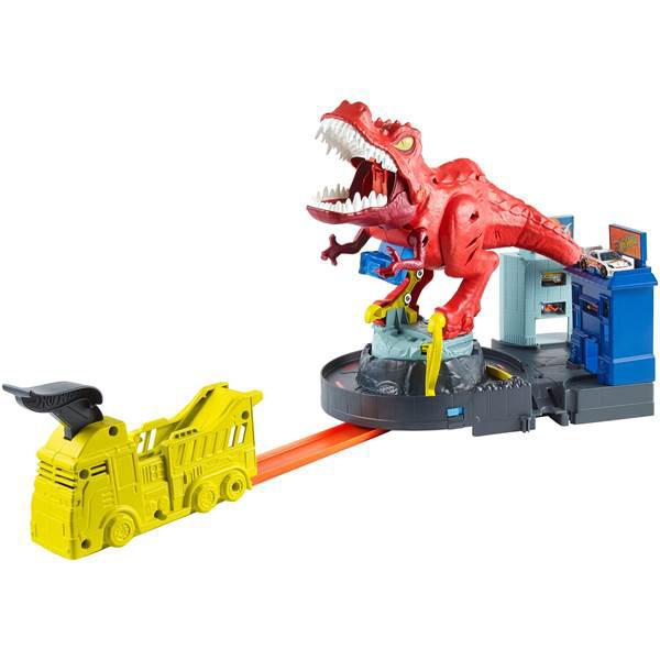HOT WHEELS GFH88 Sesli T-Rex Saldırısı Oyun Seti