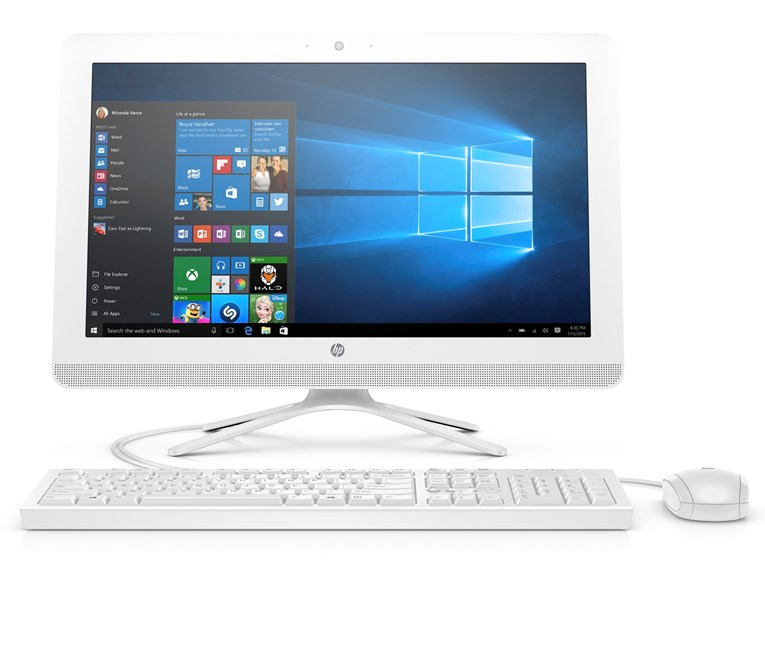HP 19.5'' 20-C411NTJ4005 All-In-One Bilgisayar
