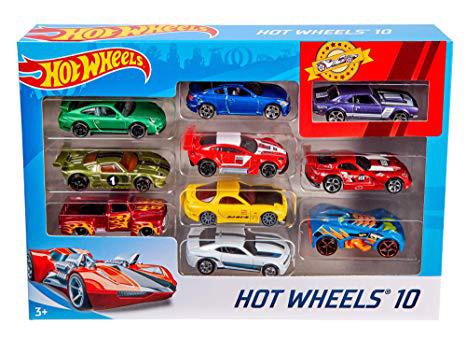 Hot Wheels 54886 10'lu Araba Seti